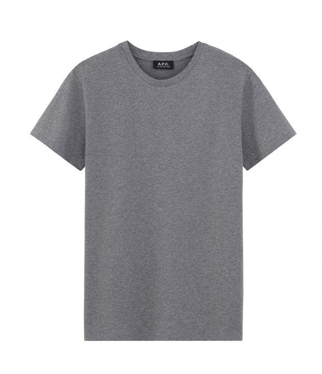 아페쎄 반팔티 A.P.C. Jimmy T-shirt,HEATHERED GREY