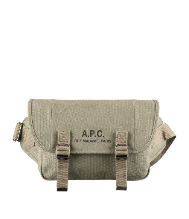 아페쎄 힙백 A.P.C. Recuperation hip bag,KHAKI