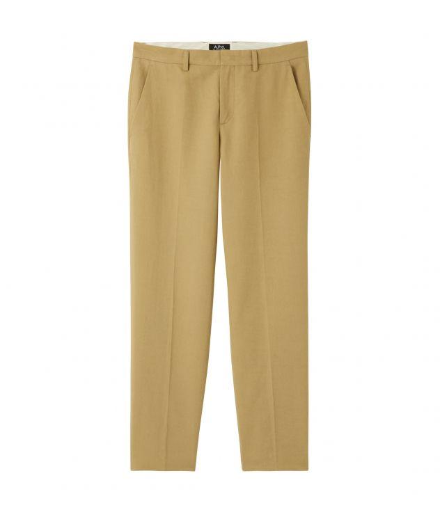 아페쎄 A.P.C. Raphael trousers,Dark beige