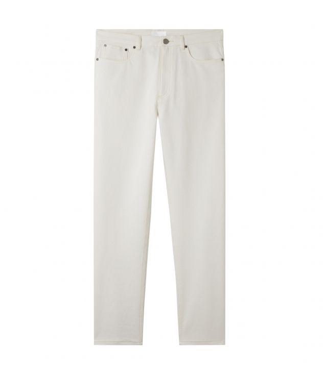 아페쎄 청바지 A.P.C. Harbor jeans,WHITE
