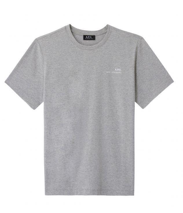 아페쎄 반팔티 A.P.C. Item T-shirt,HEATHER GREY