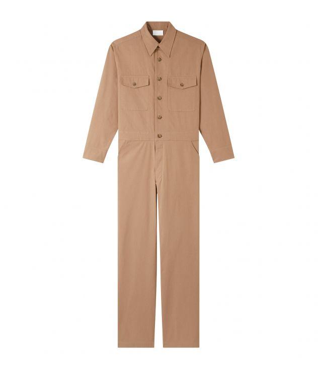 아페쎄 점프수트 A.P.C. Bay jumpsuit,ROSY BEIGE