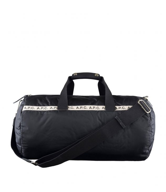 아페쎄 A.P.C. Repeat gym bag,BLACK