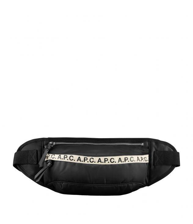 아페쎄 벨트백 A.P.C. Large Repeat hip bag,BLACK