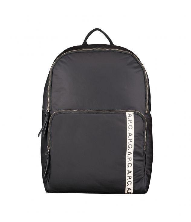 아페쎄 백팩 A.P.C. Repeat Vertical backpack,BLACK