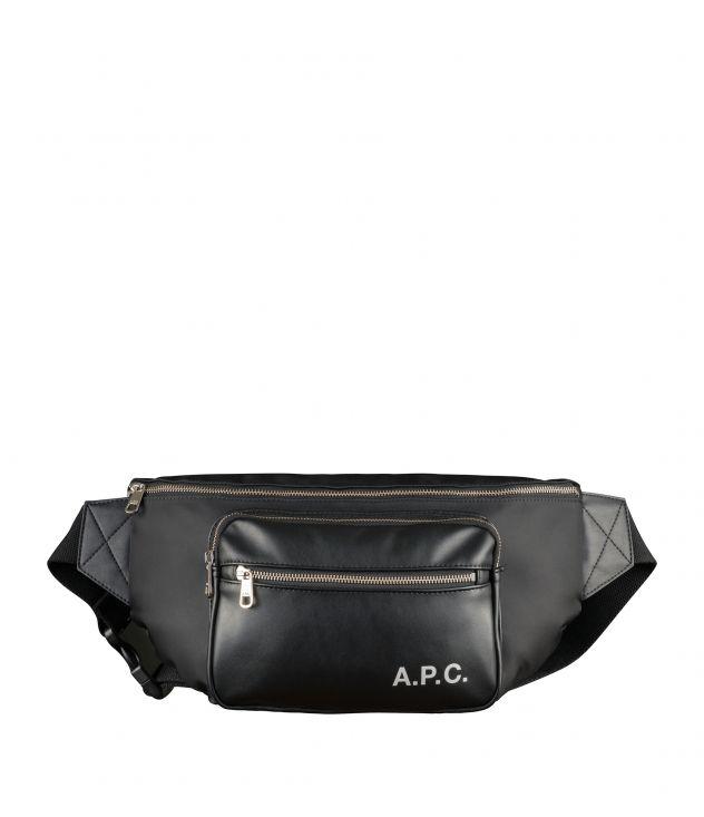 아페쎄 범백 A.P.C. Camden bum bag,Black