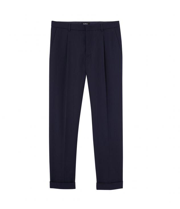 아페쎄 A.P.C. Kirk trousers,Dark navy blue