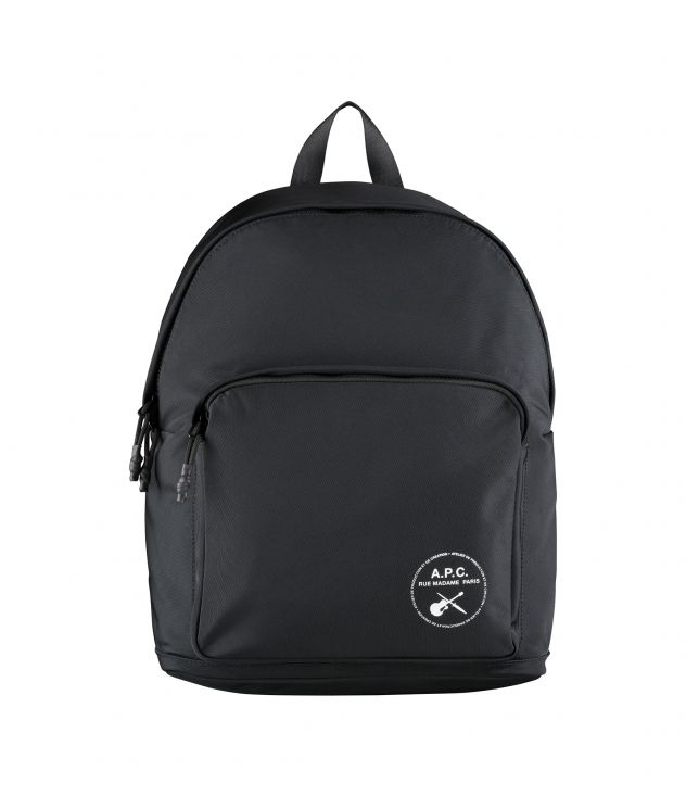 아페쎄 A.P.C. Guitare Poignard backpack,BLACK