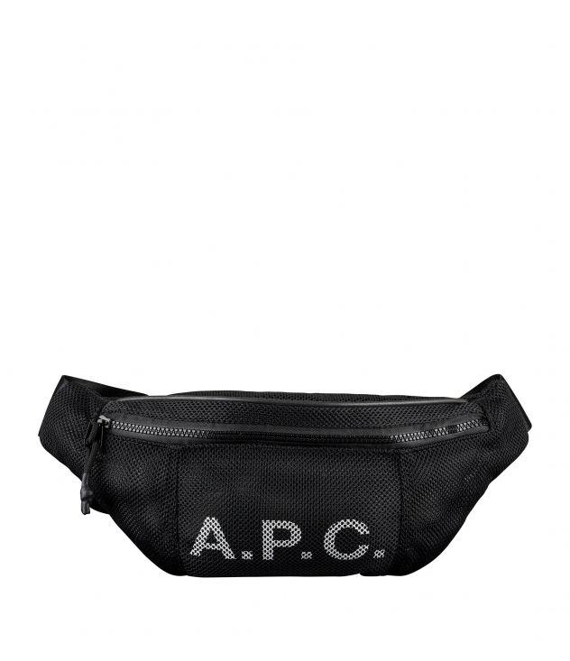 아페쎄 벨트백 A.P.C. Rebound hip bag,BLACK