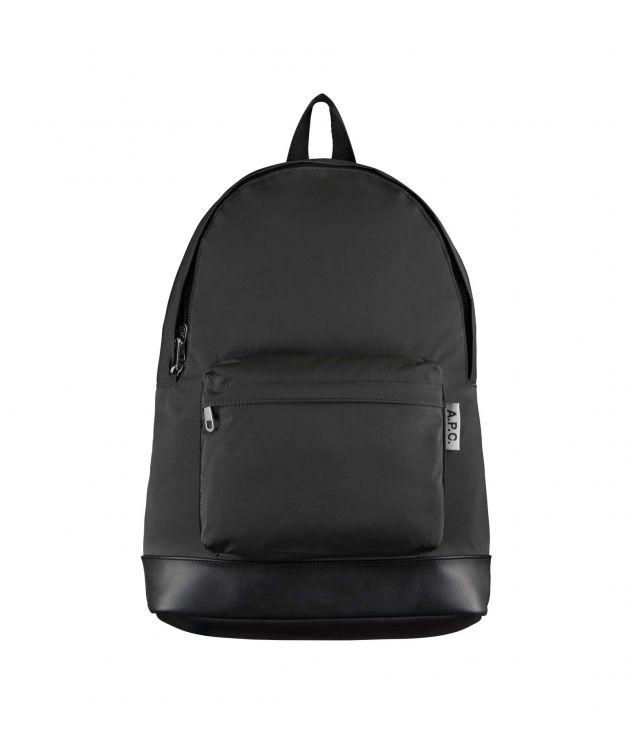 아페쎄 백팩 A.P.C. Ultralight backpack,BLACK