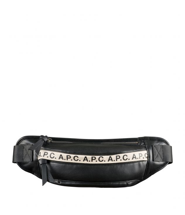 아페쎄 범백 A.P.C. Repeat bum bag,Black