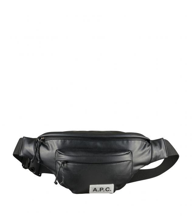 아페쎄 범백 A.P.C. Protection bum bag,BLACK