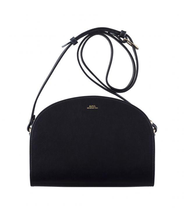 아페쎄 크로스바디백 A.P.C. Demi-Lune bag,DARK NAVY BLUE
