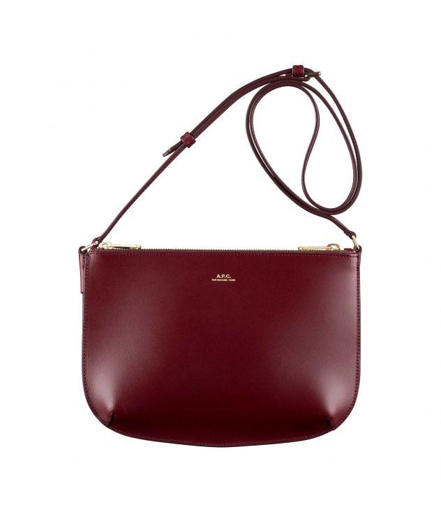 아페쎄 숄더백 A.P.C. Sarah bag,VINO