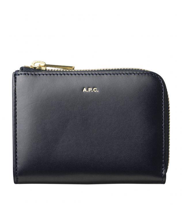 아페쎄 지갑 A.P.C. Lise compact wallet,DARK NAVY BLUE