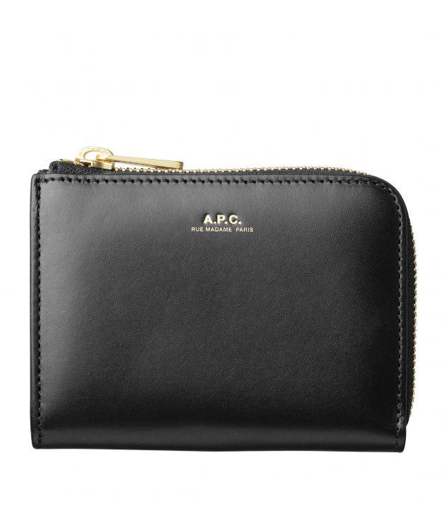 아페쎄 지갑 A.P.C. Lise compact wallet,BLACK