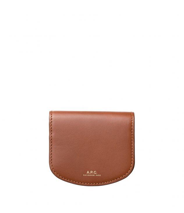 아페쎄 동전지갑 A.P.C. Dina coin purse,NUT BROWN