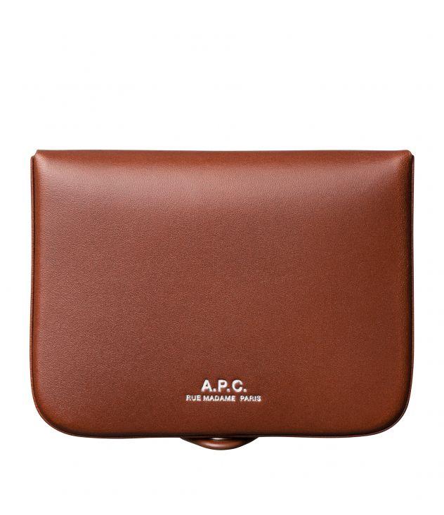 아페쎄 동전지갑 A.P.C. Josh coin-purse,NUT BROWN