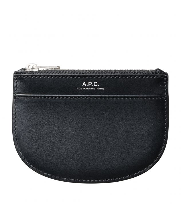 아페쎄 동전지갑 A.P.C. Demi-Lune coin purse,BLACK