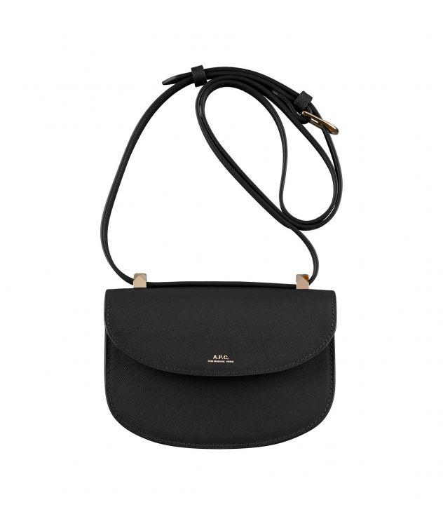아페쎄 크로스바디백 A.P.C. Geneve Mini bag,BLACK