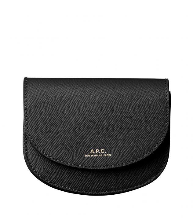 아페쎄 지갑 A.P.C. Geneve compact wallet,BLACK
