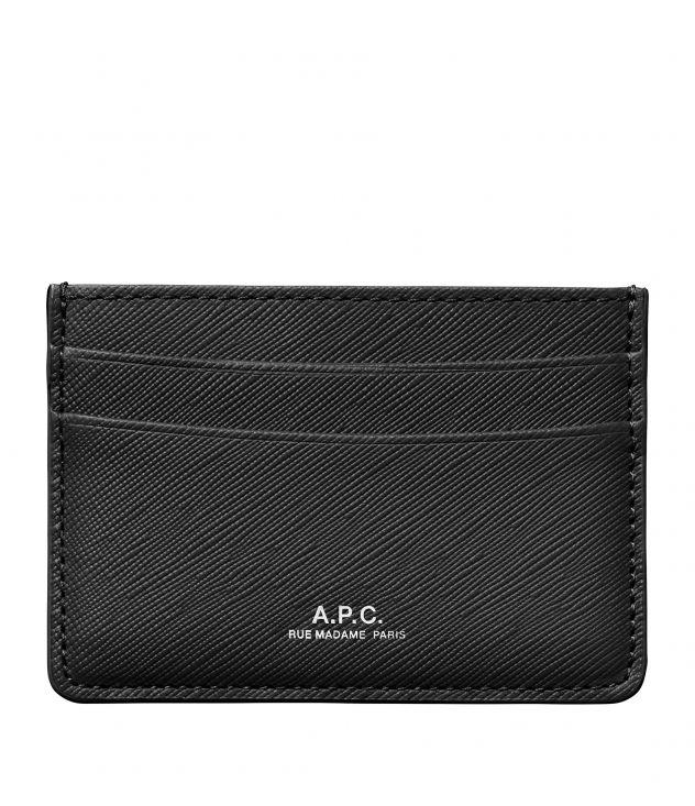 아페쎄 카드홀더 A.P.C. Andre cardholder,BLACK