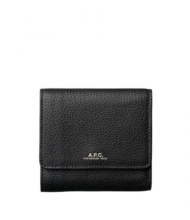 아페쎄 지갑 A.P.C. Lo,*239*,s compact wallet,BLACK
