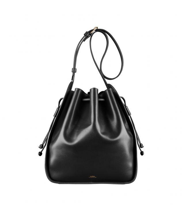 아페쎄 숄더백 A.P.C. Courtney bag,BLACK