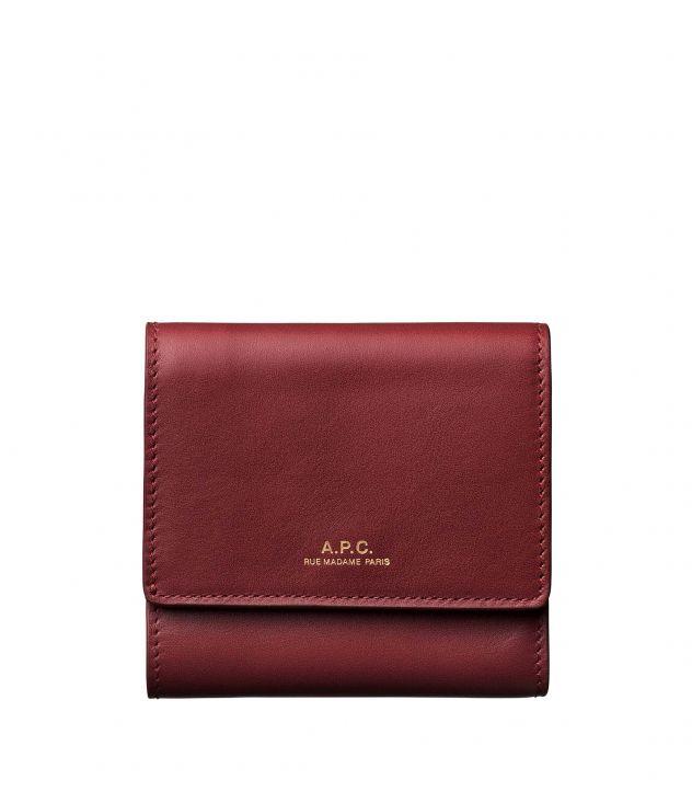 아페쎄 지갑 A.P.C. Lois compact wallet,VINO