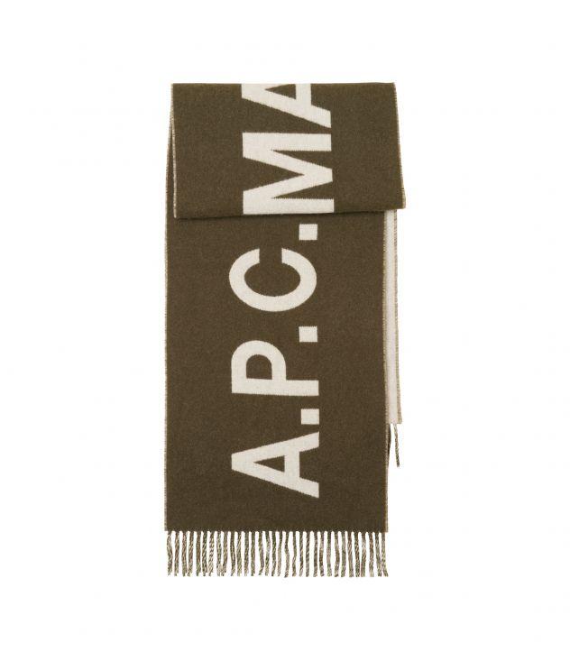 아페쎄 스카프 A.P.C. Angele scarf,MILITARY KHAKI