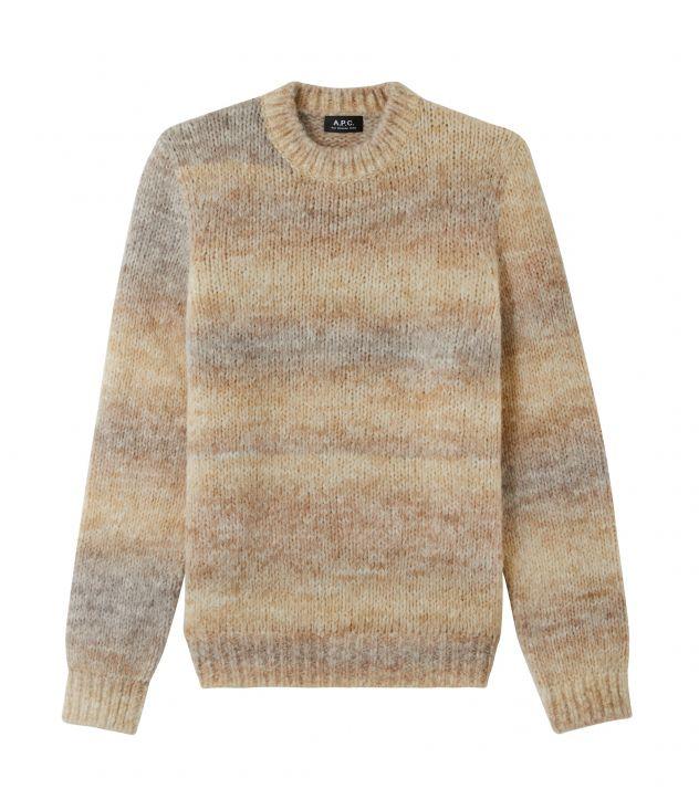 아페쎄 스웨터 A.P.C. Rudy jumper,Beige