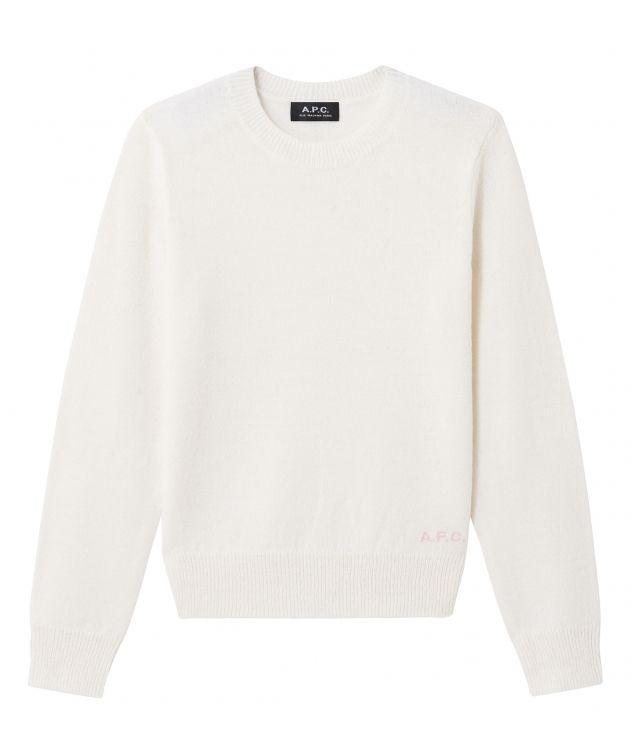 아페쎄 A.P.C. Esme jumper,Off white