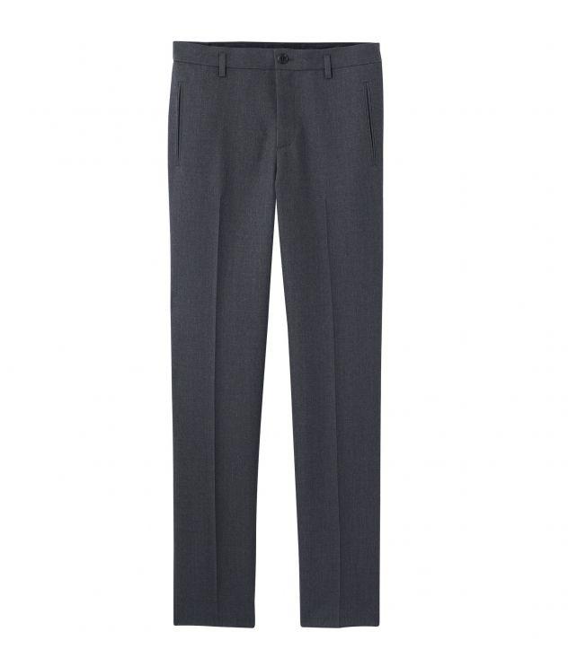 아페쎄 A.P.C. Carl trousers,Heather charcoal grey