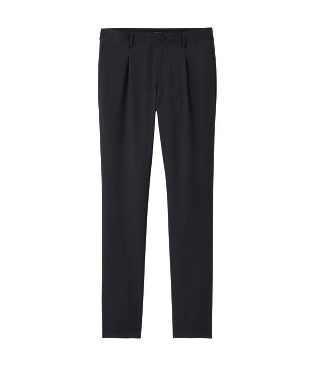 아페쎄 A.P.C. Dorian trousers,Heather charcoal grey