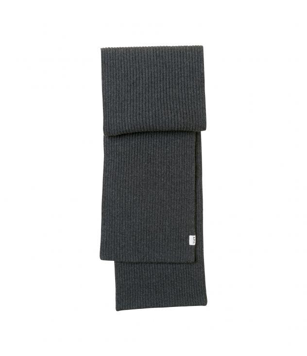 아페쎄 스카프 A.P.C. Billie scarf,HEATHER CHARCOAL GREY